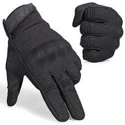 AXBXCX Breathable Flexible Rubber Hard Knuckle Full Finger T