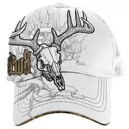 Buckwear Men's Buck Wear Mesh Back Cap White White One Size