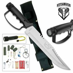 bushmaster survival hunting knife uc0212 and nylon