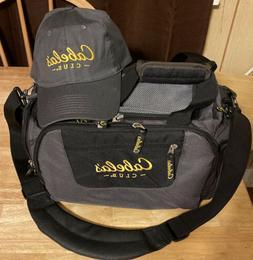 Cabela's Catch All Gear Bag & cap Fishing Hunting Shooting C
