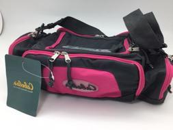 Cabela's Pink / Gray Utility Bag Gear Shoulder Bag Hunt Fish