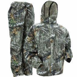 Frogg Toggs Camo All Sport Jacket Pants Combo Realtree Edge