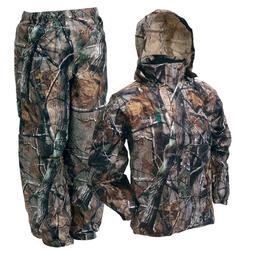 Frogg Toggs Camo All Sport Jacket Pants Combo Realtree Rain