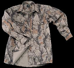 Natural Gear Camo Bush Shirt XL 101-XL Natural