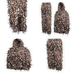 North Mountain Gear Camo Ghillie Suit 3D Leaf With Zippers A