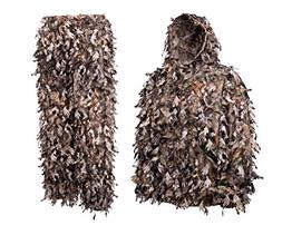 North Mountain Gear Camouflage Ghillie Suit Youth Teen Kids