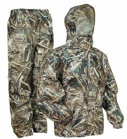Camo Rain Gear Waterproof Jacket Pants Water Resistant Hunti