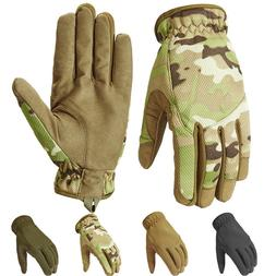 ReFire Gear Camo Tactical Military Gloves Men Full Finger Ou