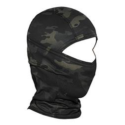 camouflage balaclava hood ninja cycling