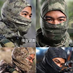 Camouflage Balaclava Hood Ninja Hunting Ski Tactical Helmet