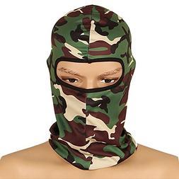 Savanaha Camouflage Balaclava Ninja Hood Military Camo Balac