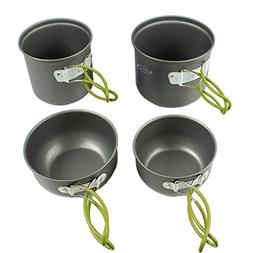 camping pan hiking cookware backpacking