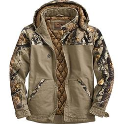 Legendary Whitetails Canvas Cross Trail Workwear Jacket Ston