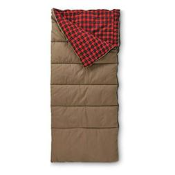 Guide Gear Canvas Hunter Sleeping Bag with Pillow Pocket, 20