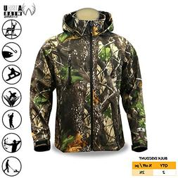 KwikSafety HUNTSMAN | Camouflage Hunting Jacket | All Year O