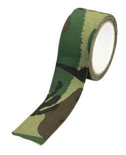 "Cloth Tape Jungle Camouflage 2"" x 33' Wrap Gear Guns Hunting"