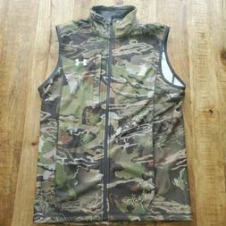 Under Armour Cold Gear Hunting Zephyr Fleece Vest Forest Cam