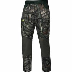 UNDER ARMOUR COLDGEAR BARRIER HUNTING PANTS MOSSY OAK CAMO $