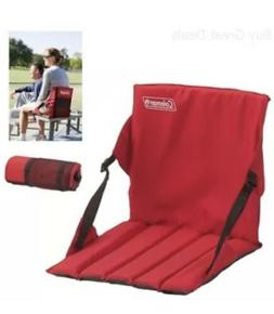 Collapsible Stadium Seat - Color: Red