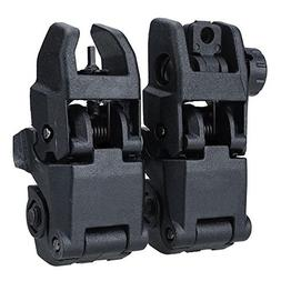 Collapsible Vision Put - 2 Lot 20mm Rail Tactical Folding Fr