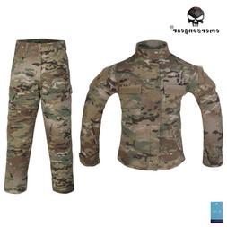 Emerson Combat Uniform Army BDU Clothing For 6Y-14Y Children
