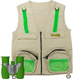 Combination Set: Eagle Eye Explorer Cargo Vest for kids with