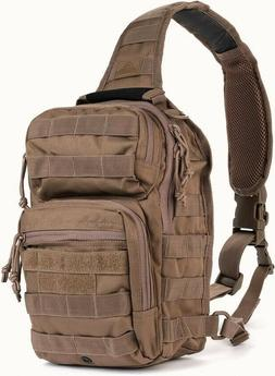 RED ROCK OUTDOOR GEAR Dark Earth ROVER Sling Pack Backpack M