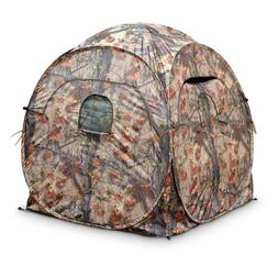 Guide Gear Deluxe 4 Panel Spring Steel Hunting Blind With Ba