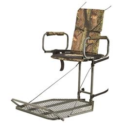 Guide Gear Deluxe Hang On Tree Stand Padded Armrests Flip Up