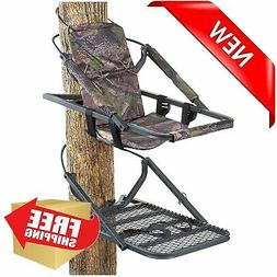 deluxe hunting climber tree stand