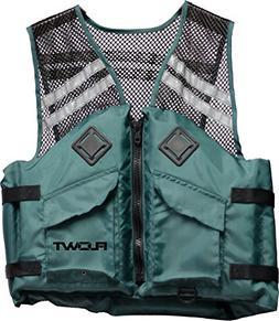 LUSI MADAM Men's Denim Pockets Leisure Outdoor Fishing Vest