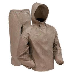 DriDucks Basic Rain Suit Khaki - Lg