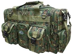 "Mens Large 22"" Duffel Duffle Military Molle Tactical Gear Sh"