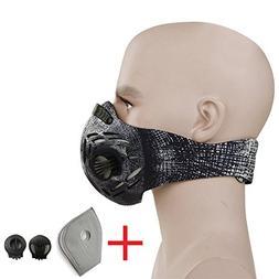 CFORWARD Dustproof Mask Activated Carbon Filtration Exhaust