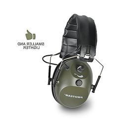 PROTEAR Electronic Single Microphone Shooting Range Gear Hun