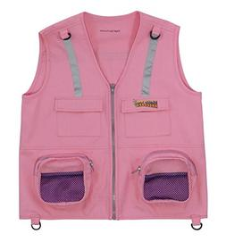 Eagle Eye Explorer Kids Cargo Vest for Boys and Girls with R