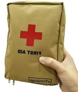 FIRST AID KIT FULLY STOCKED SMALL MEDICAL EMT DISASTER EMERG