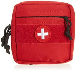 VooDoo Tactical 15-0023016000 Tactical First Aid Pouch, Red