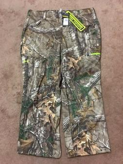 UNDER ARMOUR Mens Fleece Scent Control Hunting Pants Realtre