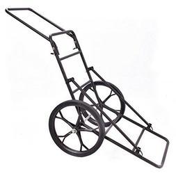 Goplus Folding Deer Game Cart Larger Capacity 500lbs Hauler
