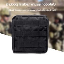 <font><b>Waterproof</b></font> Nylon Molle Pouch Bag Waist P