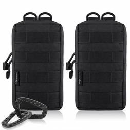 Funanasun 2 Pack Molle Pouches - Tactical Compact Water-Resi