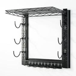 Organized Fishing Metal Game Changer Wall Rack for Fishing a