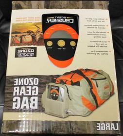 New Scent Crusher Gear Bag Ozone Scent Elimination Storage A