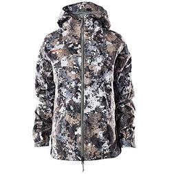 SITKA Gear Womens Downpour Jacket Optifade Elevated II Small