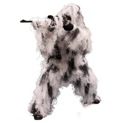 Red Rock Outdoor Gear Men's Ghillie Suit, Snow Camouflage, M