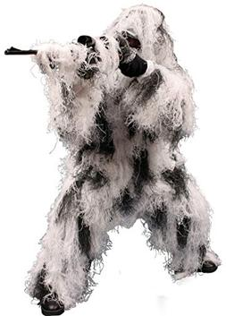 Red Rock Outdoor Gear Men's Ghillie Suit, Snow Camouflage, X