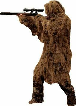 Red Rock Outdoor Gear 2 Piece Ghillie Suit Parka, Desert, Me