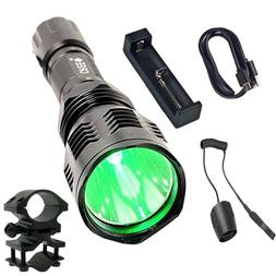 Green Light Pointer Hunting Flashlight Entertain and Train C