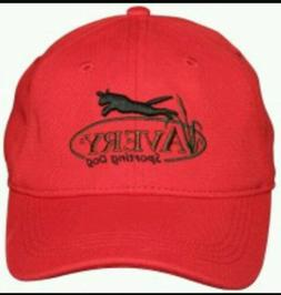 AVERY GREENHEAD GEAR SPORTING DOG TRAINING  CAP HAT RED HUNT